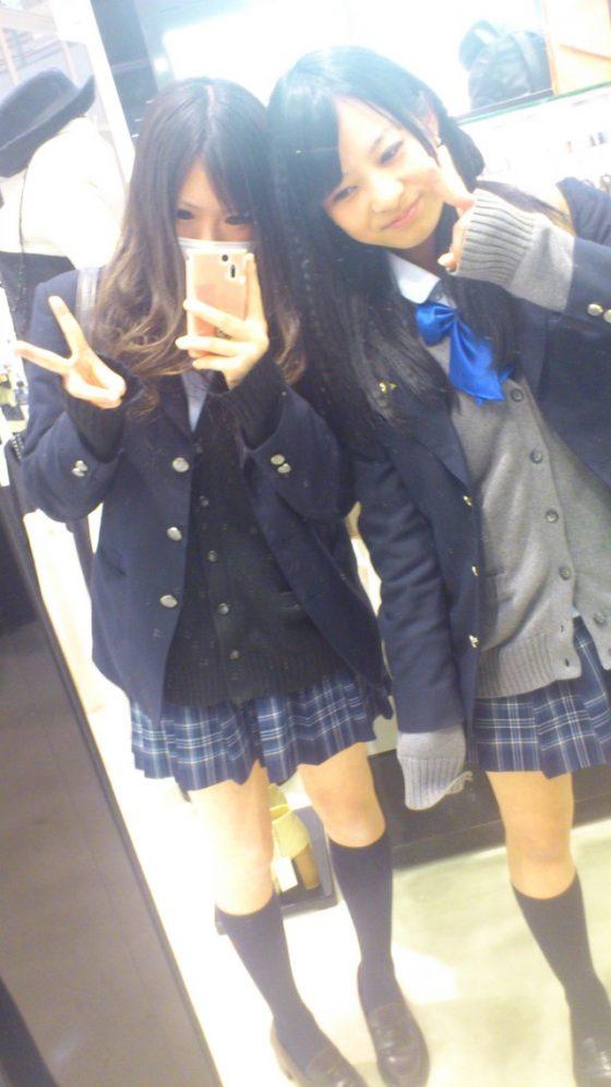 【JKインスタエロ画像】女子高生にとっては放課後こそ一日の始まり!寄り道しながら撮ったインスタ用の画像がビッチ過ぎるwww その8