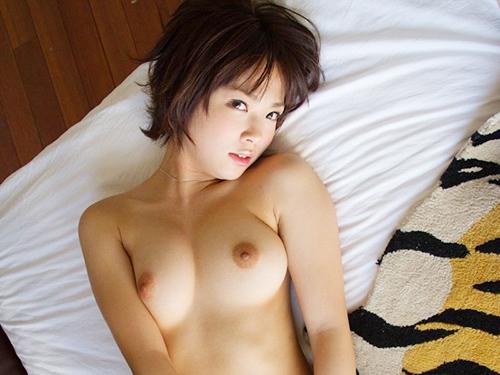 【ボーイッシュエロ画像】こんな彼女が欲しいぃ!ショートヘアが可愛いボーイッシュ女子のエロ画像 その8