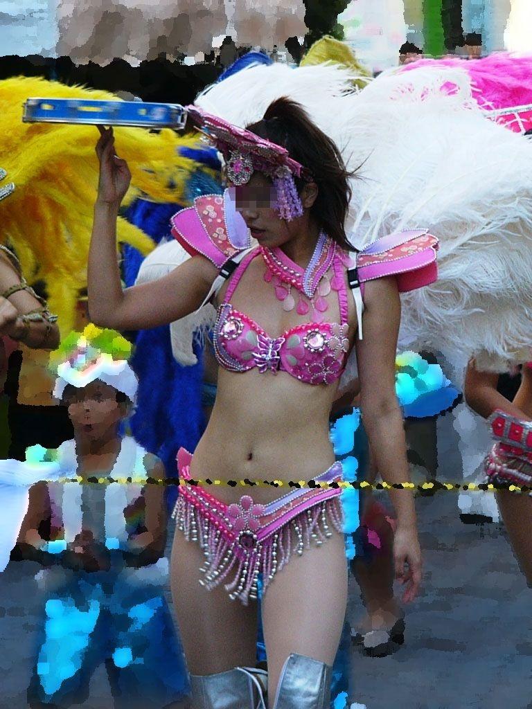 【サンバエロ画像】エロの規制が厳しくなりつつある日本だがこれだけは大体的に開催するサンバカーニバルwww その5