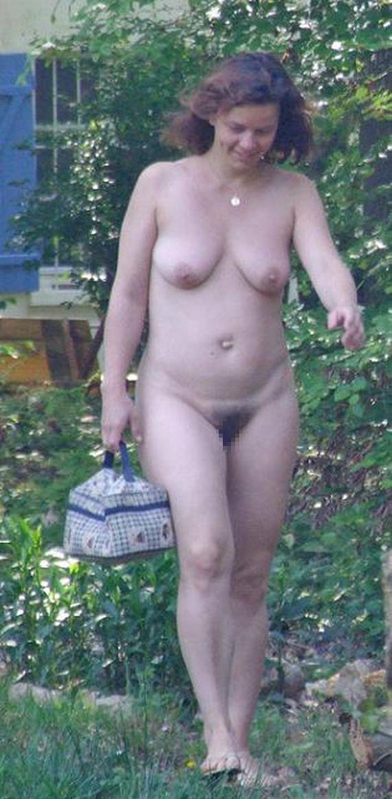 【白人熟女エロ画像】迫力が桁違い…スケベそうな白人のおばさんが全裸でアピール!チンポほしー!! その4