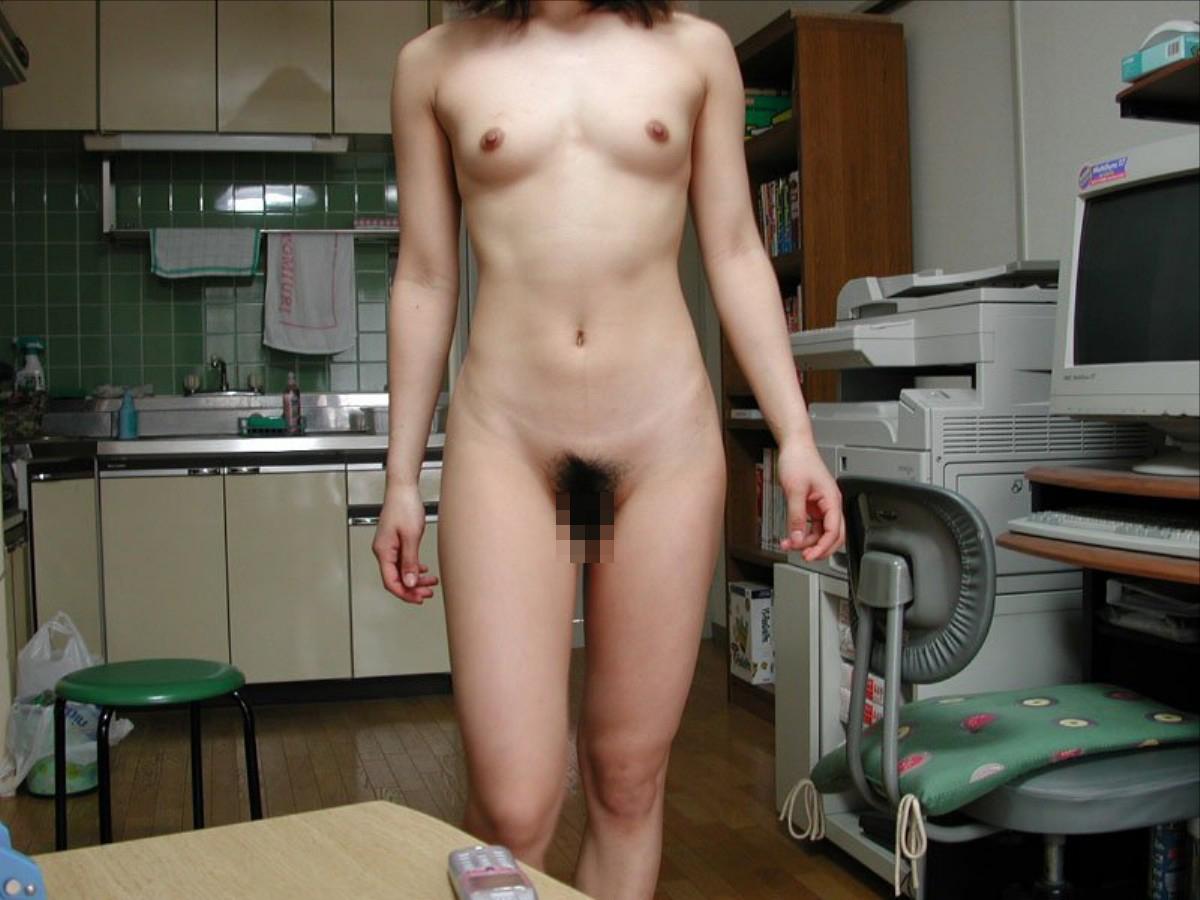 【家庭内盗撮エロ画像】家の中じゃまっぱ!全裸で日常生活を過ごす家庭内裸族なみなさまwww その4