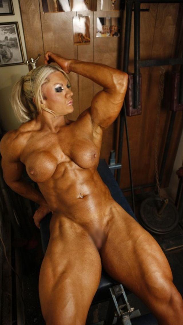 【マッチョエロ画像】これぞパッキパキッ!!まさにアマゾネス…筋肉ムキムキマッチョな女性のヌードに勃起できる自信がないwww その2
