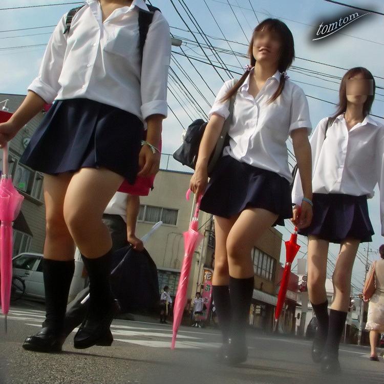 【JK街撮り画像】通学中に隠し撮りされた女子高生…なにげない佇まいの中にある成長期の色気がエロ可愛いwww その10