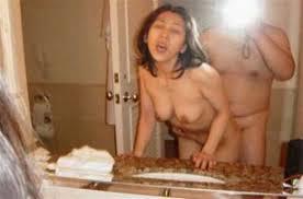 【ハメ撮りエロ画像】鏡の前でセックスするカップルって本当に多い…誰に見せるために撮ったのかちょー卑猥なハメ撮り画像 その8